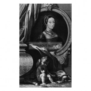 HOU001 Catherine Howard, Fifth Wife of Henry VIII