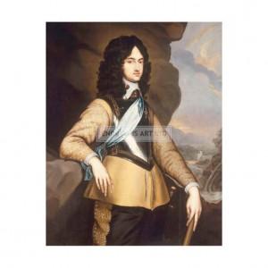 HAN001 Portrait of Charles Ii