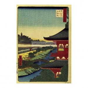 HIR027 Zojoji Pagoda and Akabane