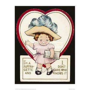 SUF380 Suffragette I Don't Care Cartoon