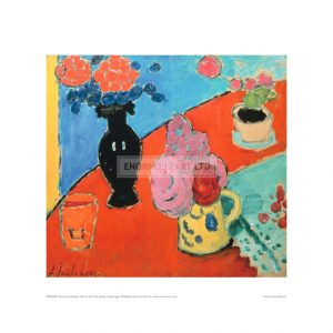 JAW009  Still Life with Vase and Jug
