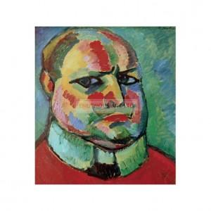SP026 Alexej von Jawlensky Self Portrait 1912
