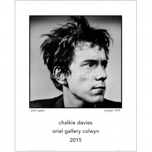 CD028 John Lydon (Oriel Gallery Colwyn)