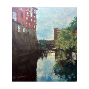 Wardle, John – A Sheffield Canal Scene (Original)