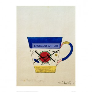 KAN088 Sketch for a Milk Cup, 1920