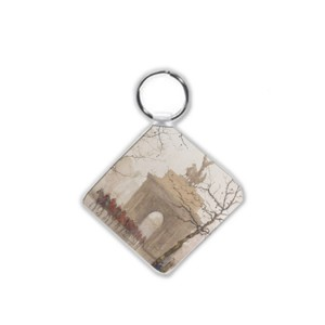 Keyring: Wellington Arch, with Household Cavalry