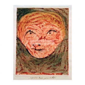 KLE024 Mask – Old Woman, 1938
