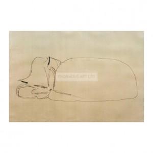 KLE033 Sleeping Cat, 1939