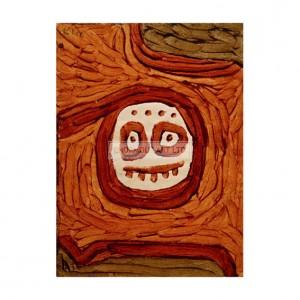 KLE046 White-Brown Mask, 1939