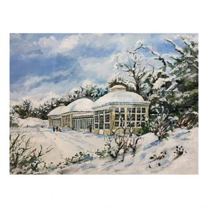 Kersey, Gerry – Snowtime, Botanical Gardens (Original)