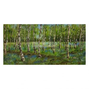 King, Geoff – Silver Birch and Bluebells (Original)