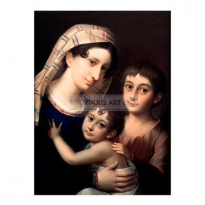 LAU003 Antonie Brentano with her Children, 1810