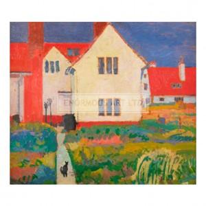 LEI004 Harold Gilman's House at Letchworth