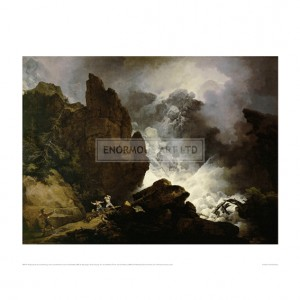 LOU001 Avalanches in the Alps, 1803