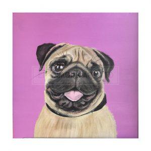Lakin, Amanda – Pink Pug (Original)