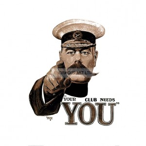 WW1375  Your Club Needs You