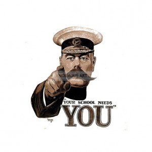 WW1377 Your School Needs You