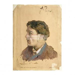 LEV001 Portrait of Anton Chekhov