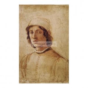 SP027 Filippino Lippi Self Portrait 1485