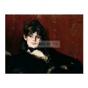 MAN004 Berthe Morisot Reclining