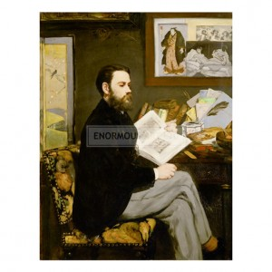 MAN011 Emile Zola, 1868