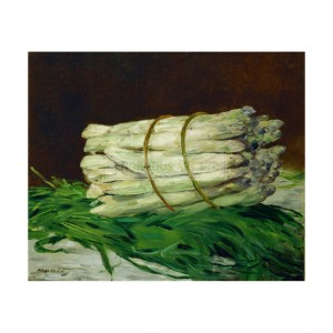 MAN028 Asparagus Still Life, 1880