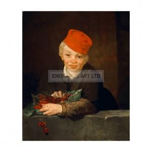 MAN036 Boy with Cherries, 1859