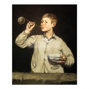 MAN037 Boy with Soap Bubbles, 1867