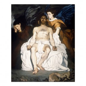 MAN042 Dead Christ and Angels, 1864