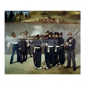 MAN050 Execution of Maximilian I, 1867