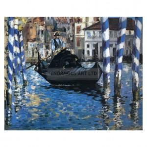 MAN060 Grand Canal, Venice, 1875
