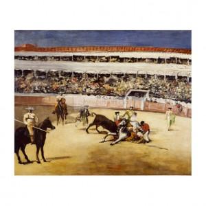 MAN063 A Bullfight, 1865