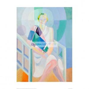 DEL037 Portrait Madame Heim, 1927