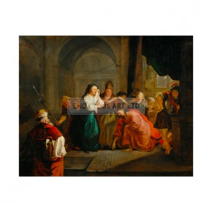 MET008 Christ and the Adultress
