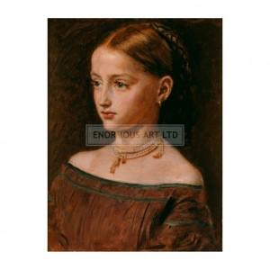 MIL016 The Woodman's Daughter, 1859