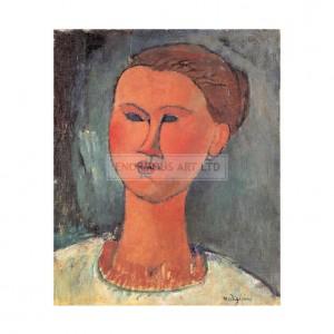 MOD002 Head of a Woman 1915