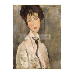 MOD004 Woman with a Black Cravat