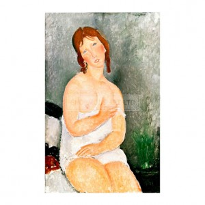 MOD005 Seated Young Woman