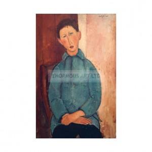 MOD006 Boy in a Blue Jacket
