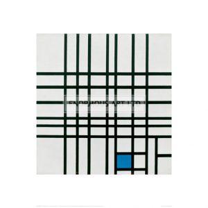 MON039 Composition No. 12; Composition with blue, 1937