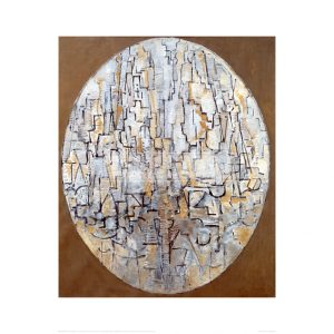MON059 Tableau No. 3; Composition in oval, 1913