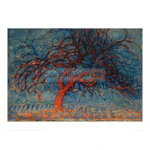 MON087 The Red Tree, 1908