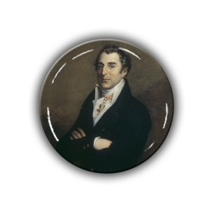 Brooch: Duke of Wellington & Statesman