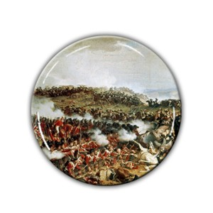 Brooch: Napoleon's Final Defeat, Waterloo, 1874