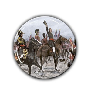 Brooch: Duke of Wellington, Advancing