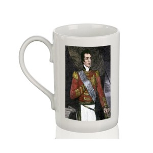 Mug: Duke of Wellington, Woodcut