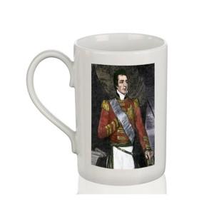 Mug: Duke of Wellington, Woodcut