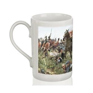 Mug: Defeat of Napoleon at Waterloo, 1900