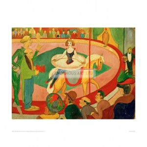 MAC014 Circus I, Circus Rider, 1911