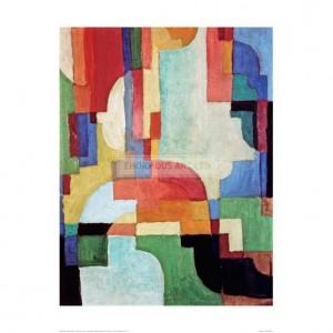 MAC027 Farbige Formen I